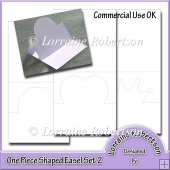 Shaped Easel Card ~ Set 2