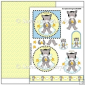 Angel Kitties PDF Decoupage Download
