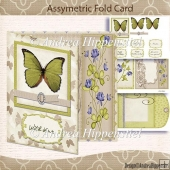 Asymetric Fold Card