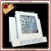 577 Snowflake Step Card *Multiple MACHINE Formats*