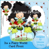Its a Fairy World Card Front