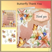 Butterfly Thank You