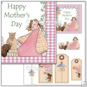 Mother's Day Card Topper + Gift Tags
