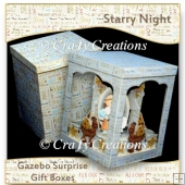 Starry Night Gazebo Gift Boxes