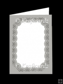 Fab Frame Card G With Pretty Detailed Cut Out (SVG/SCUT4)