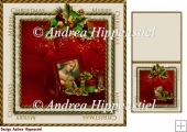7.5 x 7.5 Card Topper & Gifttag Christmas 19