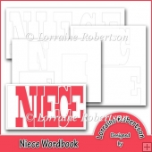 Niece Word book Template Personal Use