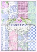 Garden Grace Set of 8 Backing Background Papers