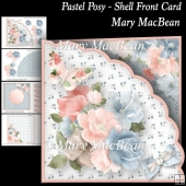 Pastel Posy - Shell Front Card