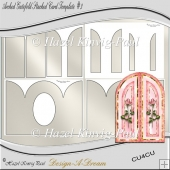 Arched Gatefold Template #3