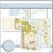 Meadow Love Asymmetric Card
