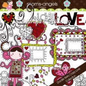 Doodle Retro Crazy Love Collection