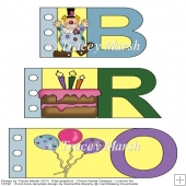 Brother Clowning Around Word Book Set