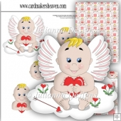 Angel of Love Decoupage Set