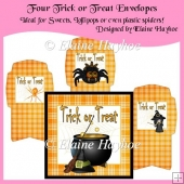 Trick Or Treat Envelopes