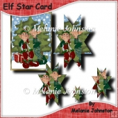Elf Star Card