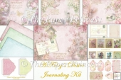 Fairy Backgrounds Journaling or scrapbook kit with free ephemera