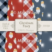 Christmas Fairy Paper Pack