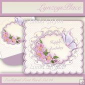 Scalloped Tent Card Set 14