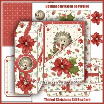 Thicket Christmas 1 Gift Box Card