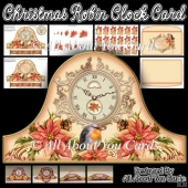 Holiday Time Clock Card & Envelope
