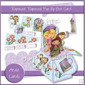 Rapunzel, Rapunzel Pop Up Box Card