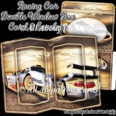 Racing Car Double Window Box Card