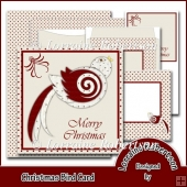 Christmas Bird Card Kit
