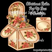 Christmas Robin Pop Up Box Card