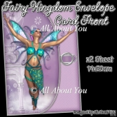 Fairy Kingdom Envelope Card Front