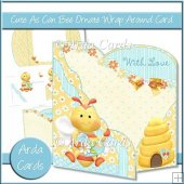 Cute As Can Bee Ornate Wrap Around Card