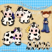 Toy Cows Clip Art Download
