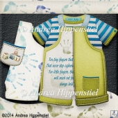 New Baby Romper Boy set 2