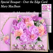 Special Bouquet - Over the Edge Card and Envelope
