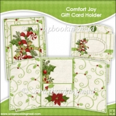 Comfort Joy Gift Card Holder & Envelope
