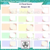 14 Blank Floral Inserts Bumper Kit