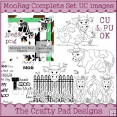 MooRag The Complete Set Uncoloured Images