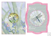 "Picture Frame Water's Edge ""Dragonfly Days"" Quick Card Plus"