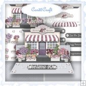 Flower shoppe easel card