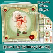 Pizza Chef Birthday Mini Kit