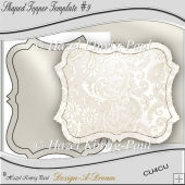 Shaped Topper Template #9