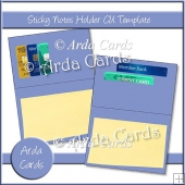 Sticky Notes Holder CU Template