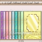 Gold Patterned card Fronts 2