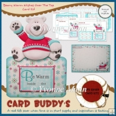 Beary Warm Wishes Over The Top Card Kit