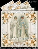 Elegant Fashion Ladies, Mother and Bride Mini Kit