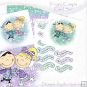 Happy Couple Card Set(Retiring in July)
