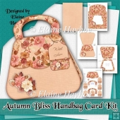 Autumn Bliss Handbag Shaped Card Kit