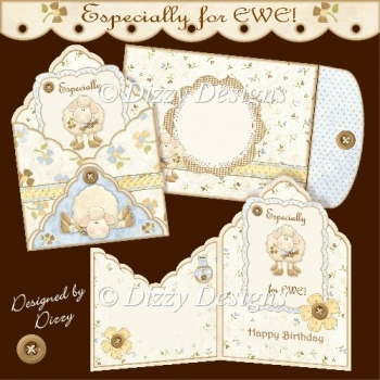 Especially for EWE! Fancy Envy Card