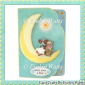 Wish Upon A Star Fancy Edge Fold Card Kit