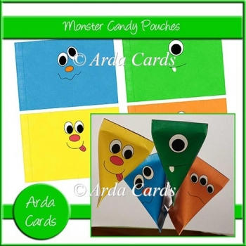 Monster Candy Pouches